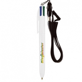 BIC® 4 Colours britePix™ Bille + lanyard