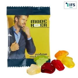 MINI Gommes de fruits personnalisées