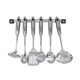 Barre 6 accessoires de cuisine inox