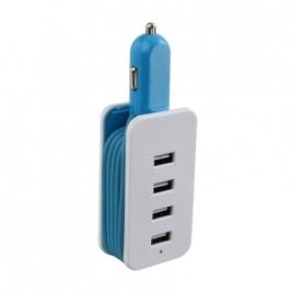 Adaptateur allume-cigare 4 USB