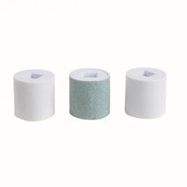 3 rouleaux pour polissoir àongles