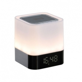 Radio réveil lampe compatible Bluetooth®