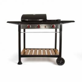 Barbecue gaz gril et plancha