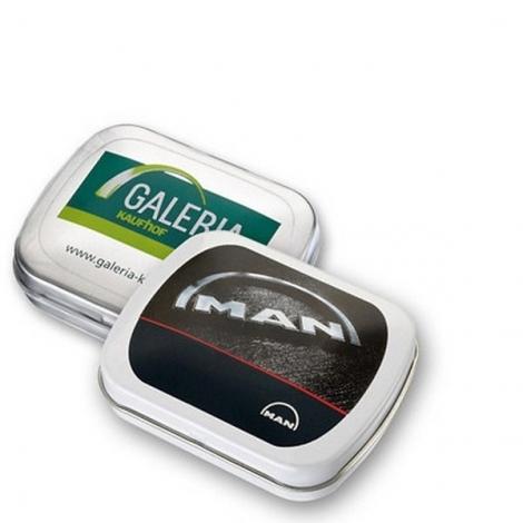 Mini boîte à pastilles avec mentos