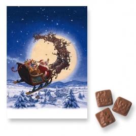 Calendrier de l'avent au chocolat classique BASIC