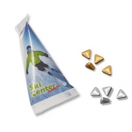 Sachet berlingot pastilles triangulaires
