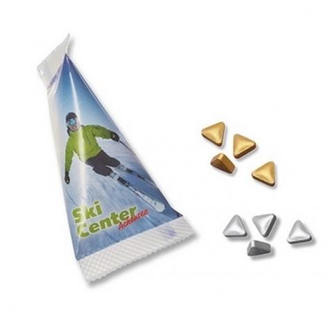 Sachet berlingot pastilles triangulaires