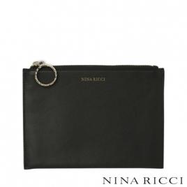 Petite pochette Boucle Noir