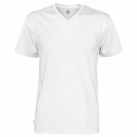 Tee shirt GOTS col V homme MC