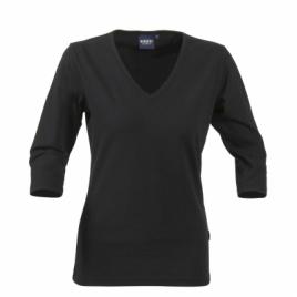 Tee shirt Lynn col V femme ML