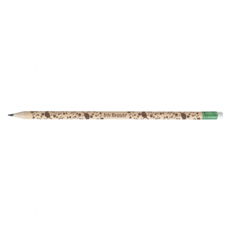 Crayon de papier en bois de peuplier