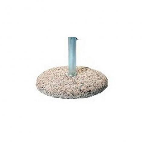 Socle beton 50 kg